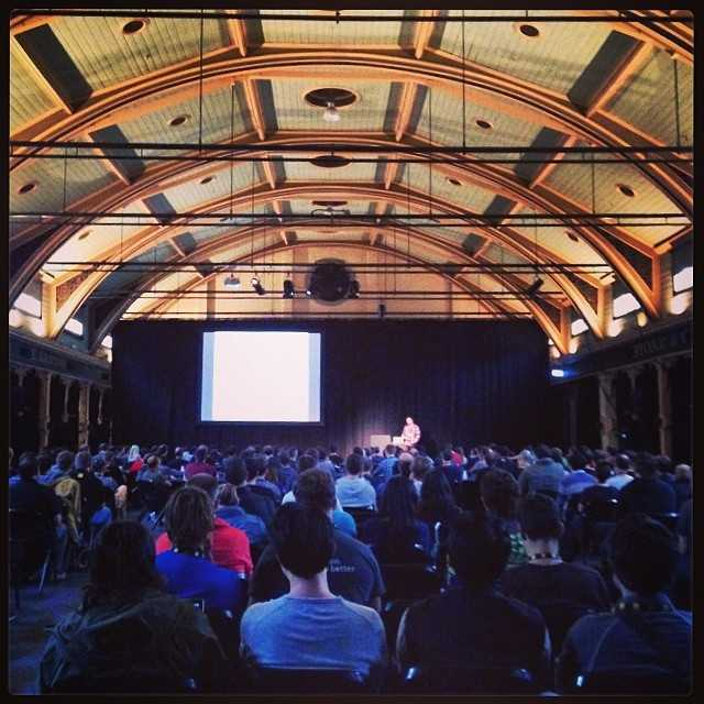 The Stage at JSConf AU